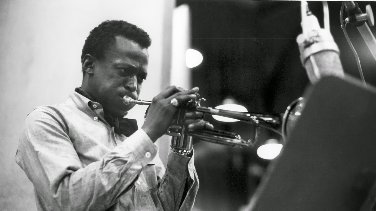 Miles Davis looking cool in his OCBD.