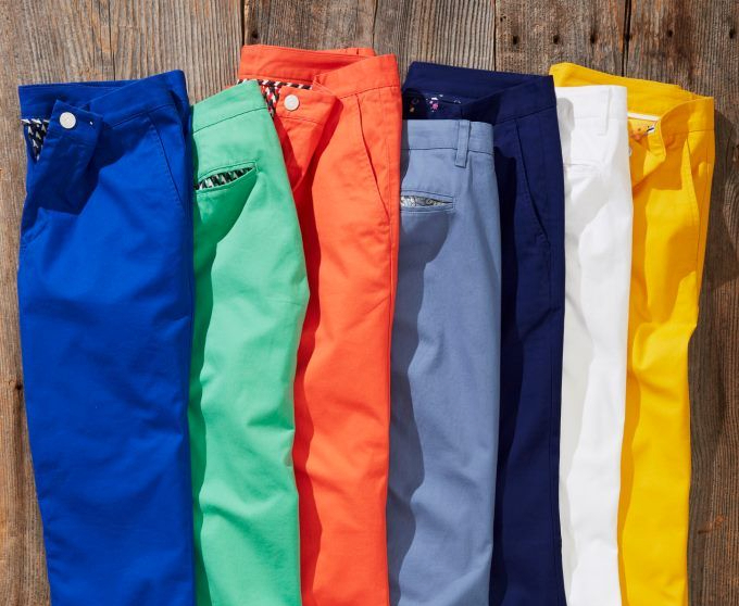 Brighten up your pants.