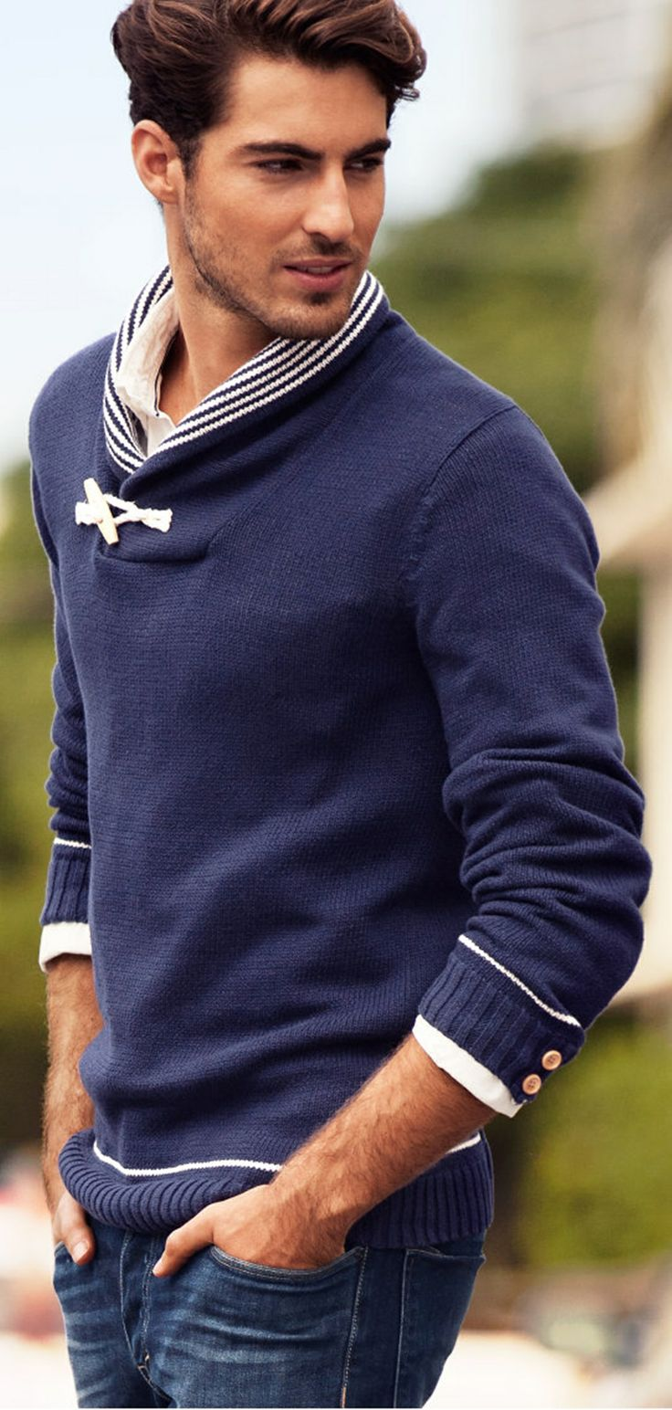 Great details on this sweater.